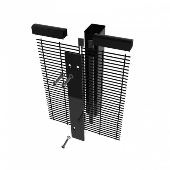 Securifor pravokutni stupovi + dijelovi za učvršćivanje-1